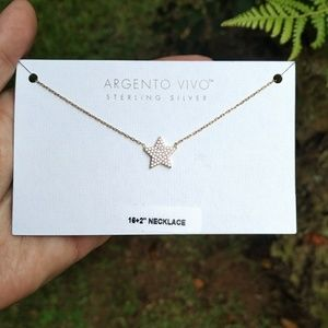 Argento Vivo Stationary Star⭐ Necklace - NWT